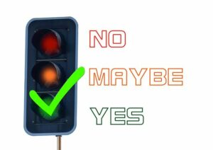 Best slow cooker ratings. The colorful illustration of a traffic signal on green, stating yes.
